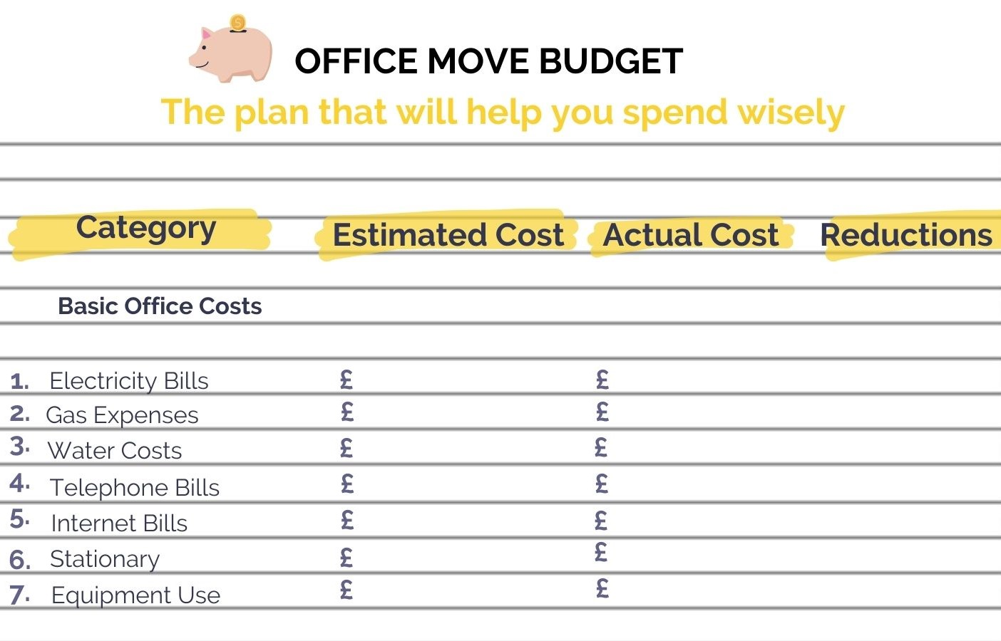 How To Move Offices With An Office Relocation Budget  Move N